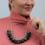 Wäscheklammern Perlenkette – eine Pinspiration