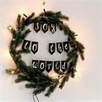 Weihnachtlicher Wandkranz