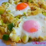 Yumurtalı pırasa kavurması tarifi (Zeytinyağlı)