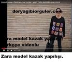 ZARA MODEL KAZAK YAPILIŞI