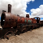 Der Eisenbahnfriedhof & die Salar de Uyuni