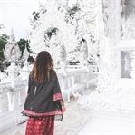 Der verrückte weiße Tempel in Chiang Rai