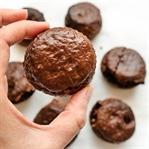 Düşük Kalorili Brownie Muffin