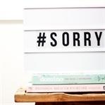 Entschuldigung sagen leicht gemacht