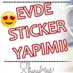 Evde Kendi Stickerını Yap !