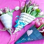Freebie: Blumen-Papier
