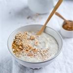 Grundrezept für cremiges Oatmeal.