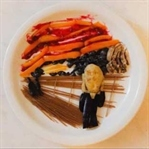 Harley L.'den Yiyeceklerle Yapılmış Sanat Eserleri