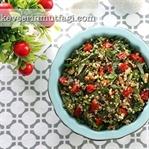 Ispanaklı Kinoa Salatası Tarifi