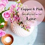 Kupfer & Pink Liebe