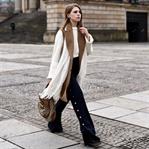 Long Vest, Palazzo Pants & Gucci Monogram Bag
