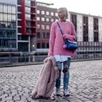 Mein pinkfarbener Pullover