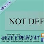 Not Defteri -75-
