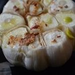 Ofen gerösteter Knoblauch