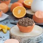 Orange küsst Schokolade - Cupcake