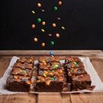 Schoko Brownies mit M&M's