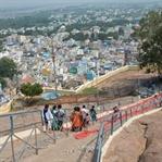Trichy, als mich Ganesha 437 Stufen hoch trug