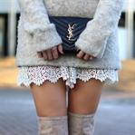 Winter Neutrals & Lace Details