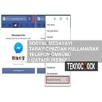 Android Tarayıcıdan Facebook Kullanımı