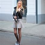 Black & Grey Sporty Look