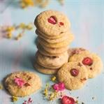 Cookies mit Orange und getrockneten Erdbeeren - Fr
