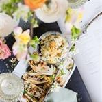 Couscous Salat mit karamellisiertem Chicorée