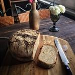 Demir Döküm Tencerede Çavdar Ekmeği