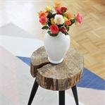 DIY: Beistelltisch aus Baumscheibe