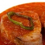 Domates Soslu Ton Balığı