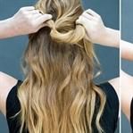 En Kolay Yapılan Saç Modelleri