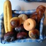 Fimo İle Minyatür Ekmek Sepeti