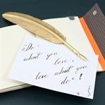 Ich lerne: Kalligraphie – Welttag der Poesie