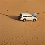 Jeep-Safari in der Wüste Abu Dhabi´s