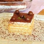 Kahveli Bisküvi Pastası Tarifi