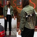 Look Of The Day: The Army Jacket Update