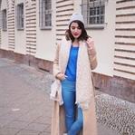 Maxi Camel Coat