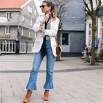 NEW DENIM: Diesmal - Cropped Jeans mit Volant