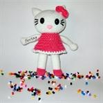 Örgü Oyuncak Hello Kitty