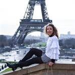 Outfit: Volants, Vichy-Karo, Chanel und Eiffelturm