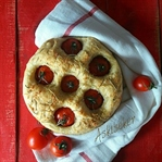 Sarımsaklı Domatesli Ekmek