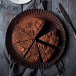 Schokoladenkuchen ohne Zucker.