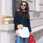 STATEMENT SLEEVES & CLASSIC CHANEL ESPADRILLES