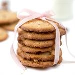 White Chocolate Cookies mit Pekannüssen