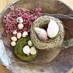 Wie ihr eine Schale mit Naturmaterialien dekoriert