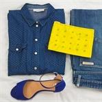Wie trage ich ein Jeans Shirt? 3 Styling Ideen für