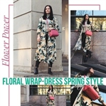 Wrap-Dress Spring Style