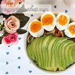 Avokadolu Doyuran Salata Tarifi