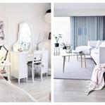 Beyaz Renklerde Modern Ev Dekorasyonu Örnekleri