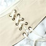 DIY Taillengürtel mit Schnürung