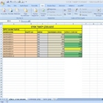 Dosya | Excel ile Stok Takip Tablosu Oluşturma
